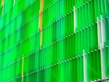 vert intérieur y de cinq niveaux de feuille en plastique acrylique et de couleur de mousse Photos stock