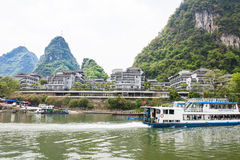 Vert Lotus Hotel de Guilin Yangshuo Photographie stock libre de droits