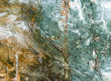 Vert ou Emerald Marble Photographie stock