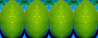 Vert pomme Image libre de droits