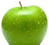 vert pomme mouillez Photographie stock libre de droits