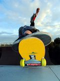 Vert ramp Royalty Free Stock Photography