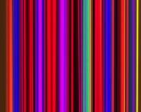 Vert violet rouge au néon génétique de pistes verticales d'art illustration de vecteur