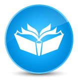 Vertaalpictogram elegante cyaan blauwe ronde knoop Royalty-vrije Stock Foto