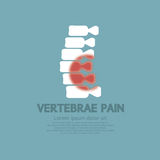 Vertebrae Pain Illness Concept Stock Photos