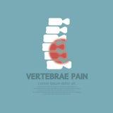 Vertebrae Pain Illness Concept Stock Photos