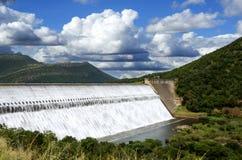 Vertedouro de África do Sul da represa de Loskop imagens de stock