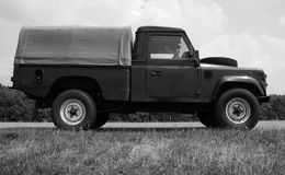 Verteidiger Land Rovers 110 Lizenzfreie Stockbilder