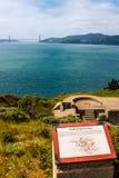 Verteidigung der Bucht Stockbild
