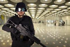 Verteidigung gegen Terrorismus Stockfotografie