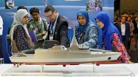 15. Verteidigung hält Asien-Ausstellung 2016 instand Stockfoto