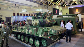 15. Verteidigung hält Asien-Ausstellung 2016 instand Lizenzfreies Stockbild