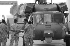 Verteidigungs-Ausstellung von Abu Dhabi Stockbilder