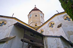 Verteidigungskirche in Prejmer, Rumänien stockfotografie