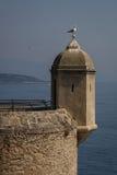 Verteidigungsuhrturm, Monaco Stockfotos