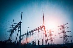 Verteilende Nebenstelle der Energie Lizenzfreies Stockbild