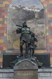 Vertel monument in Altdorf Stock Foto's