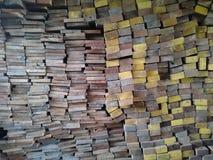 Vertente da madeira Imagens de Stock
