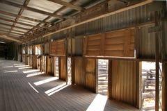 Vertente de lãs de Kinchega. imagens de stock