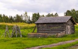 Vertente velha da madeira Imagem de Stock