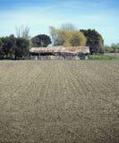 Vertente velha prado ploughed Fotos de Stock Royalty Free