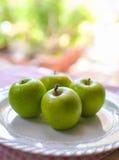 Vertes de Pommes Imagens de Stock Royalty Free