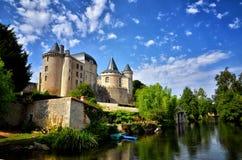 Verteuil sur Charente, France. Stock Images