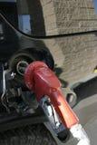 Verticaal - de Pijp van de Benzinepomp Stock Afbeelding