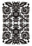 Verticaal decoratief patroon Stock Afbeelding