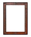 Verticaal fotoframe Stock Afbeelding