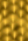 Verticaal geborsteld metaal - goud Royalty-vrije Stock Fotografie