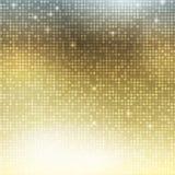 Verticaal gouden mozaïek stock illustratie