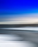 Verticaal levendig eenvoudig noordpoolsamenvatting vaag landschap Royalty-vrije Stock Foto