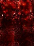 Verticaal zwart rood mozaïek Stock Afbeelding