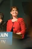Vertical 1 de Sarah Palin del gobernador Foto de archivo libre de regalías