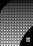 Abstract background 37 black and white. Vertical abstract background with unique halftone pattern in black and white colors. Texture of gradient small spiral Royalty Free Stock Image
