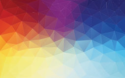 Vertical Abstract 2D geometric colorful background Stock Photography