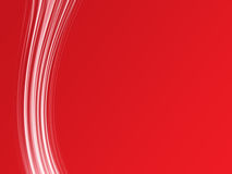 Vertical abstract lines. On a red background Royalty Free Stock Photos