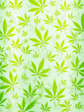 Vertical abstracta del fondo de la marijuana Fotografía de archivo