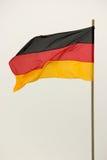 Vertical alemão 1 da bandeira fotografia de stock royalty free