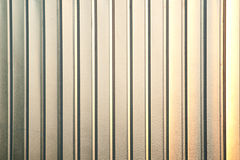 Vertical aluminium texture Royalty Free Stock Photos