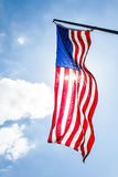 Vertical American Flag Royalty Free Stock Image