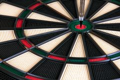 Vertical Arrow On Darts Board Royalty Free Stock Image