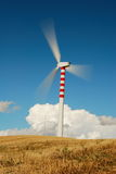 Vertical axis wind turbine Royalty Free Stock Image