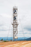 Vertical axis wind turbine Royalty Free Stock Photography