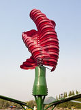 Vertical axis wind turbines Stock Images