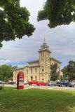 Vertical ayuntamiento en Simcoe, Ontario, Canadá fotos de archivo libres de regalías