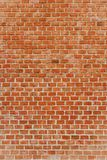 Vertical background of old brick wall Stock Images