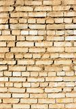 Vertical background of old vintage brick wall stock photography