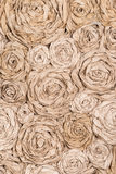 Vertical background paper flowers Stock Image